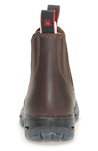 Redback Ubjk Boots Da Lavoro In Australia - Unisex + 250 Ml Di Cura Della Pelle | Jarrah-marrone Jarrah-marrone