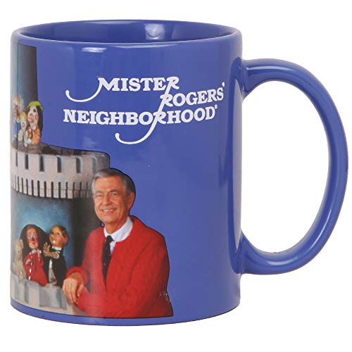 (Mister Rogers Neighborhood Land of Make Believe Puppets Coffee Mug)