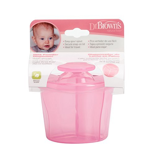 Dr Brown's Milk Powder Dispenser (Pink) by Dr. Brown's