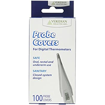 Veridian Healthcare Digital Thermometer Probe Covers