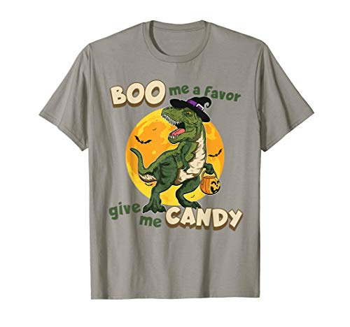 Halloween Pumpkin Dinosaur Trick Or Treat -