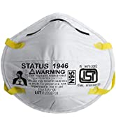 Status SITRA/DRDO/ISI CERTIFIED 3M Unisex Adult's N95 Medical Mask (Pack of 1pc, White)