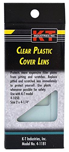 K-T Industries 4-1181 - Clear Plastic Welding Helmet Cover Lens, 2