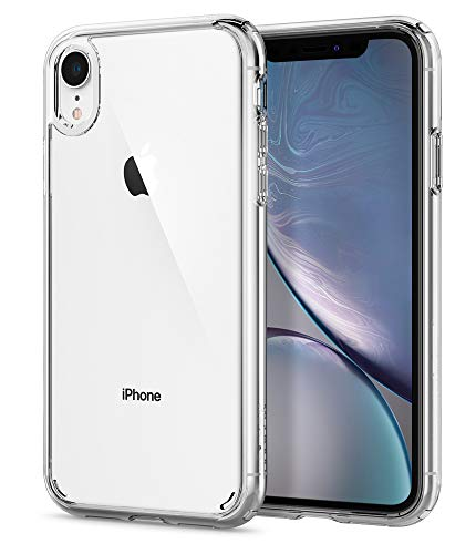 (Spigen Ultra Hybrid Designed for Apple iPhone XR Case (2018) - Crystal Clear)