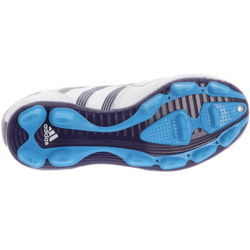 adidas P Absolado X FG J–Schuhe Fußball vor Ort Festplatte Kinder–Weiß/Blau/Cyan
