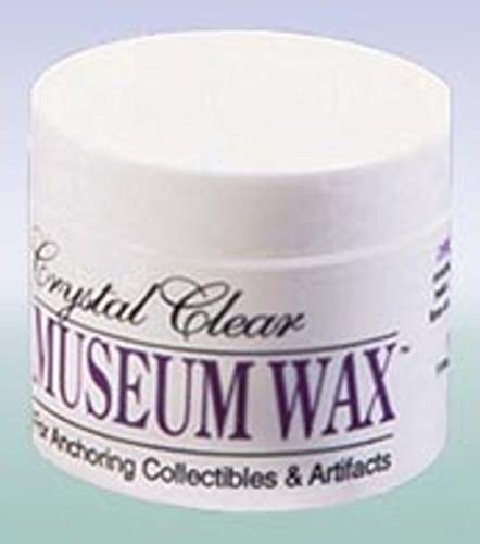 Dollhouse Miniature Clear Museum Wax, 2 Oz