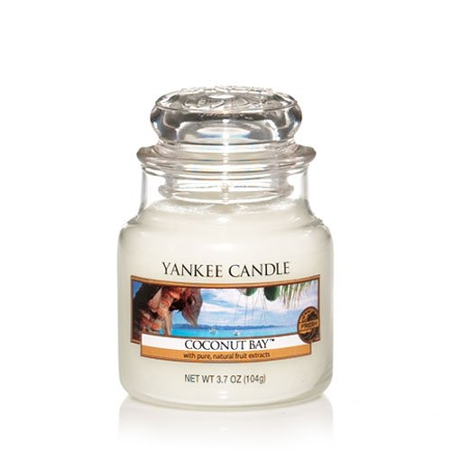 Yankee Candle Coconut Bay Small Jar Candle 3.7 oz Coconut Bay Yankee Candle