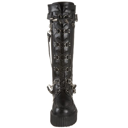 Demonia 13 Blk CREEPER EU 588 V UK PU 46 rqRY1rnW