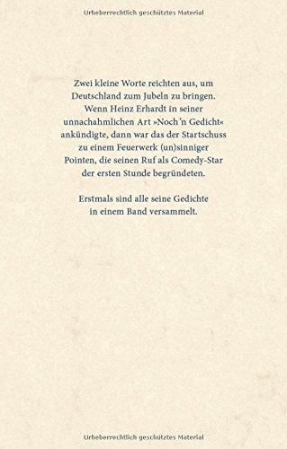Heinz Erhardt Die Gedichte Heinz Erhardt 9783830334057