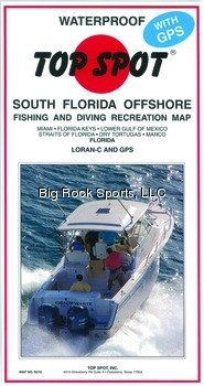 Top Spot N210 South Florida Offshore Fishing Map