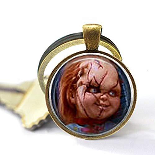 Chucky & Tiffany Keychain