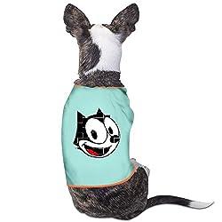Cool Felix The Cat Cartoon Pet Dog T Shirt.