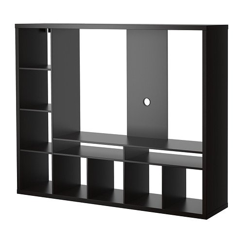 Ikea Lappland Tv Storage Unit Black Brown 72x 14210 26175