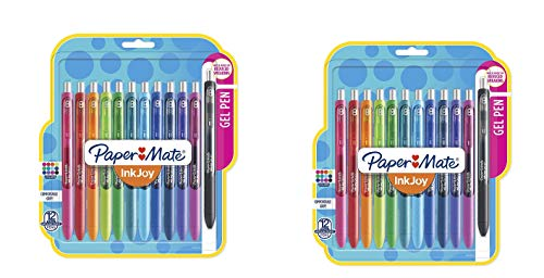 InkJoy Gel Pens, Medium Point, Assorted Colors, 12 Count by Paper Mate (Image #1)