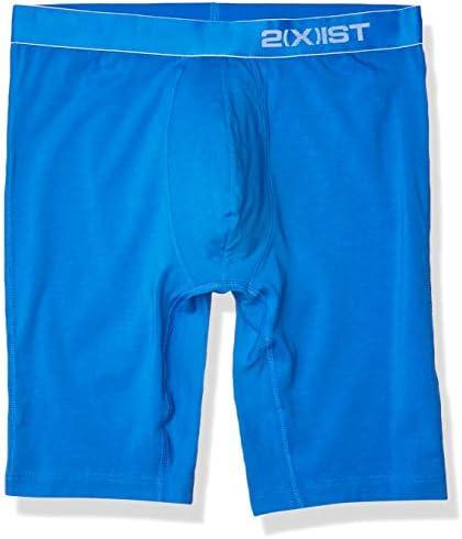 X 2 IST Mens 24 Pima Stretch Long Leg Boxer Brief