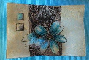 Assiette Verre Bol Dcoratif En Motif Fleurs 06 Pour Confiseries Ptisseries Cartes De Visite