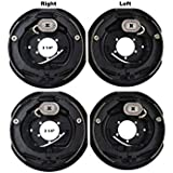 "2 Sets 12x2 Electric Trailer Brake Assembly for 7000 lb Axle Trailers 12""x2"""