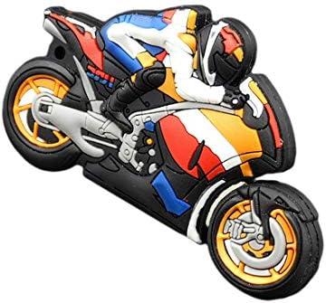 NoyoKere U Disco Pen Drive Llavero Pen Drive 8Gb 16Gb 32Gb 64Gb USB Flash Drive Motocicleta Moto Car Cartoon