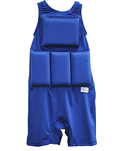 - My Pool Pal Boy's Flotation Swimsuit, Royal Blue, Small