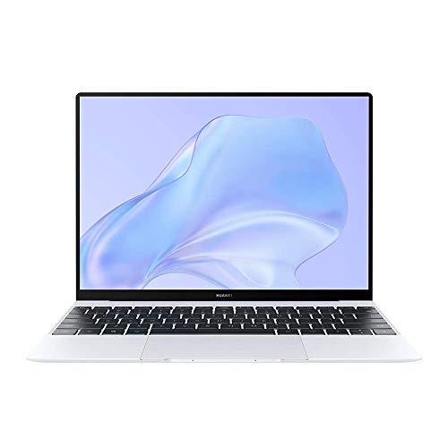 HUAWEI MateBook X Laptop, 13-Inch Full View Touchscreen Ultrabook, 10th Gen Intel i5-10210U, 16GB RAM, 512GB SSD, Huawei Share OneHop, Windows 10 Home -Silver Frost + FOC Gifts