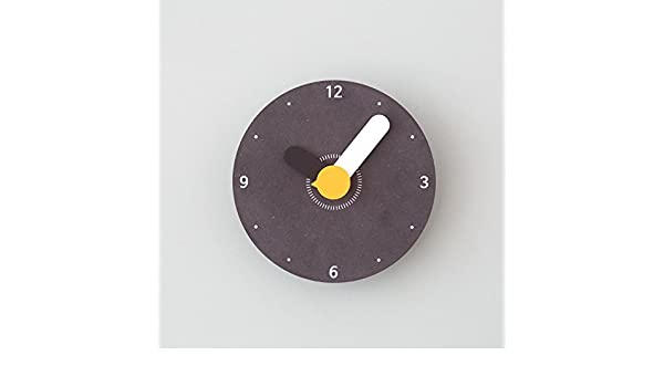 Amazon.com: Jedfild Creative Wall Clock Large Creative Wall Clock Modern Cartoon Child Bedroom Mute Personality Clock, Black: Home & Kitchen