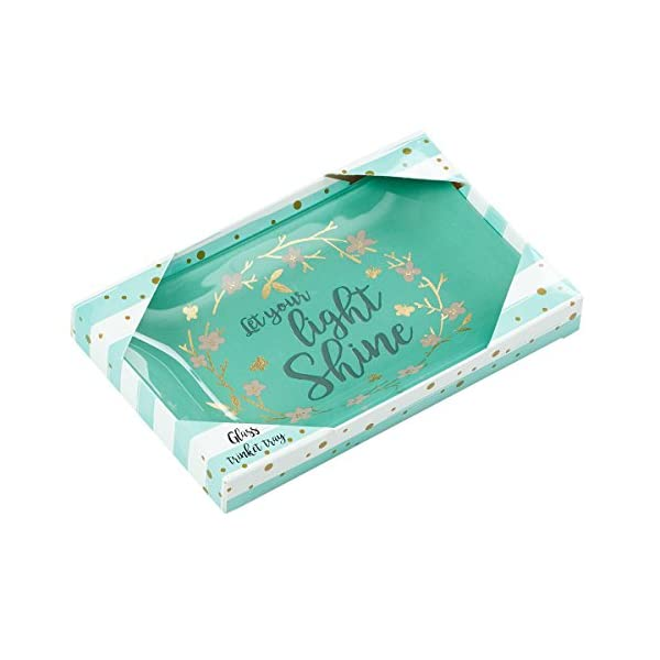 Christian-Art-Gifts-Let-Your-Light-Shine-Glass-Trinket-Dish-in-Gift-Box-Green