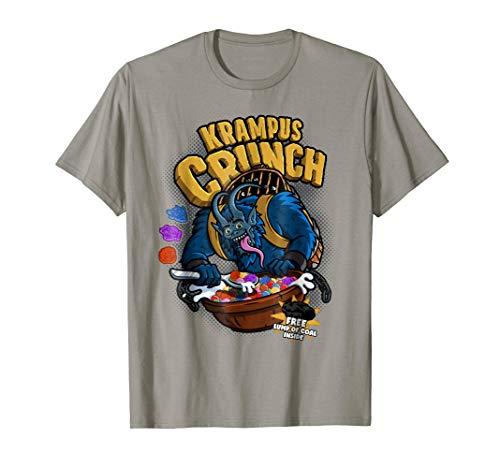 Krampus Crunch cereal cartoon shirt XL Slate ()