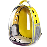 Mumoo Bear Space Capsule-shaped Pet Backpack Pet Carrier Bag Transparent Bag Cat Dog Outdoor Hiking Travel Bag