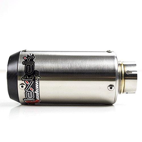 Lextek CP1 Matte Acier Inoxydable 150S silencieux d 51mm CP1