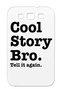 Black TPU Protective Hard Case For Sumsang Galaxy S3 Quotations Funny
