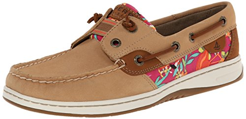 Sperry top sider women 39 s rainbowfish boat shoe linen for Best boat shoes for fishing