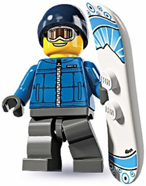Lego Minifigures Series 5 – Snowboarder Male, Baby & Kids Zone