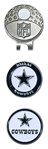 Dallas Cowboys Cap - NFL Dallas Cowboys Cap Clip With 2 Golf Ball Markers