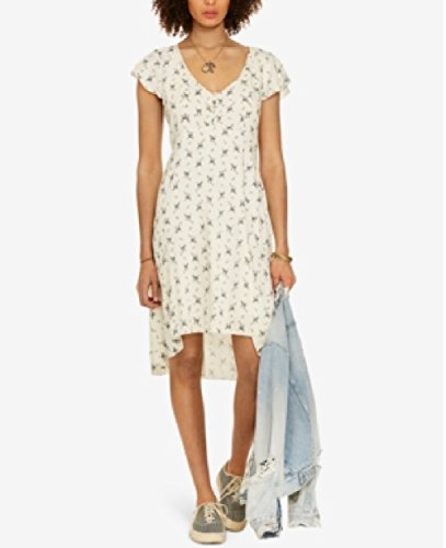 Polo Ralph Lauren Denim Supply Ralph Lauren Floral-Print Fit Flare Dress Floral Blue/White 6 Ralph Lauren Wedding