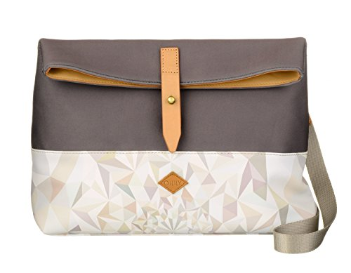 Oilily Oilily M Shoulder Bag - Borse a tracolla Donna, Weiß (Oyster White), 9.5x23x30.5 cm (B x H T)