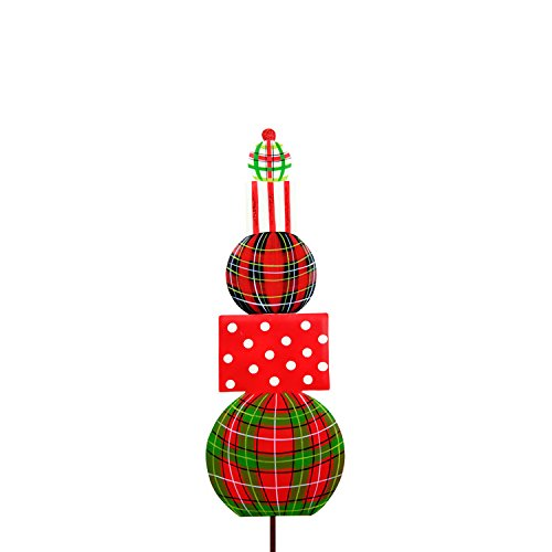 The Round Top Collection Plaid Topiary Small ()