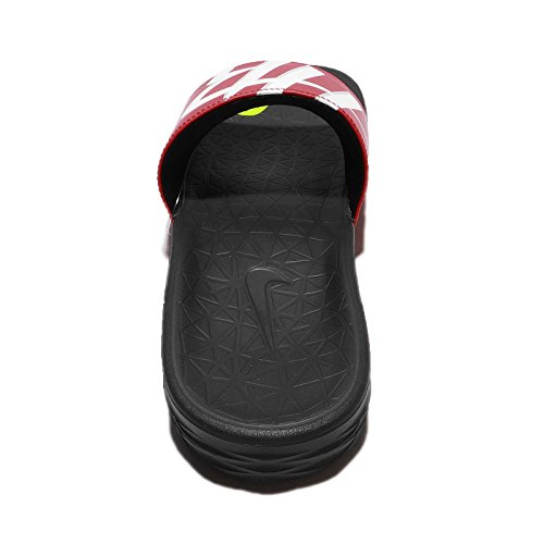 NIKE Men's Benassi NBA Red RED Black Black Solarsoft rr6qd