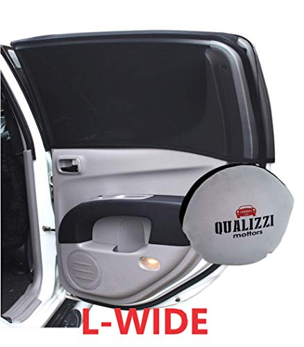 L-Wide/Car Sun Shades That Fit Most SUV's Windows Up to 48 x 21 in. at Maximum -