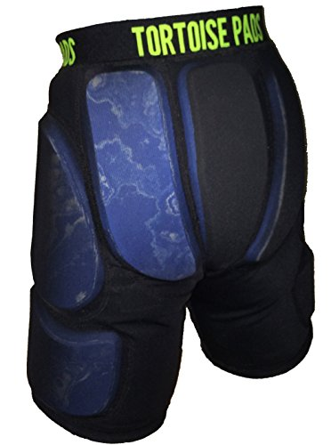 """Tortoise Pads Low Profile Padded Shorts with High Impact Dual Density EVA Foam Pad Thickness: 3/8"""""""