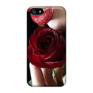 New Arrival Cases Specially Design For Iphone 5/5s (romantic Rose)