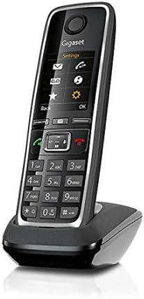 Gigaset C530H - Teléfono inalámbrico (Gap, DECT, Clip) Color Negro: Amazon.es: Informática