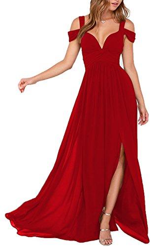 Kleider Lang Abendkleider Damen Baijinbai Pailetten Elegant Cocktail D3 Red Ballkleid 2018 Brautjungfernkleider besetzte q6vCTEwCp