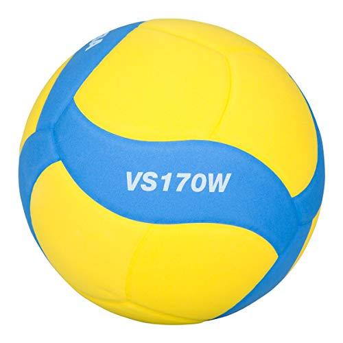 미카사 스마일 배구공 5 호 FIVB 공인 노랑 / 파랑 VS170W-Y-BL