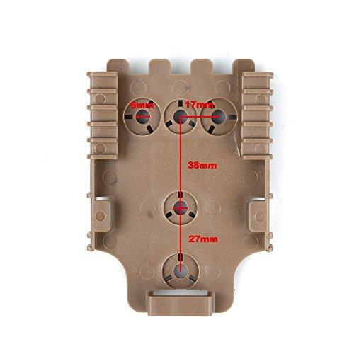 (TMC Quick Locking Receiver Plate - DE)