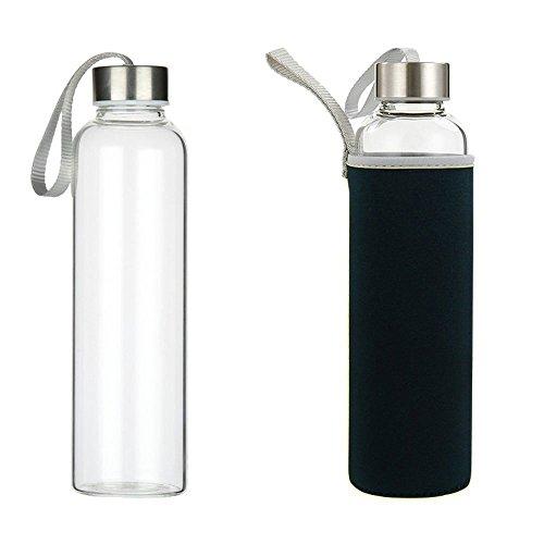 yttx verre borosilicate bouteille d 39 eau 550 ml sports bouteilles en verre de l 39 eau potable pour. Black Bedroom Furniture Sets. Home Design Ideas