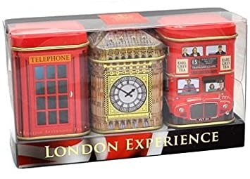 5769d128e Amazon.com : London Experience Tea Gift Set : Gourmet Tea Gifts ...