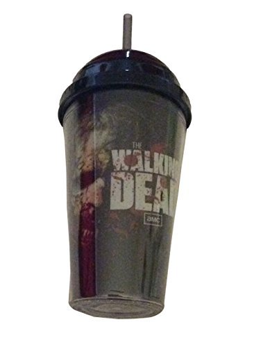 The Walking Dead Logo Zombies Carnival Cold Cup Twist On Cover With Straw