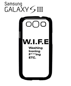 WIF*cking Funny Mobile Cell Phone Case Samsung Galaxy S3 White