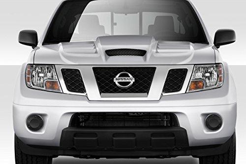 Duraflex Replacement for 2005-2013 Nissan Frontier Viper Look Hood - 1 Piece