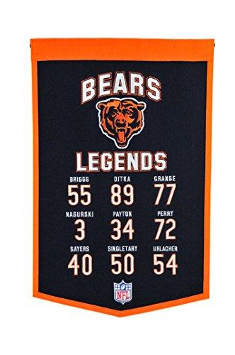 Winning Streak NFL Chicago Bears Legends Banner